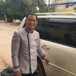 Mr. Thann, the senior driver who showed us around Siem Reap and helped up understand Siem Reap.