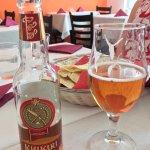 Khukuri beer, good! And very nice atmosphere.