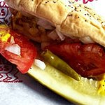 Chicago Style Hot Dog at Portillo's