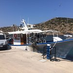 George's fishing boat (the owner of To Limanaki)