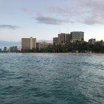 Hale Koa along Waikiki Beach