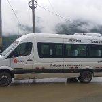 Servicio de transporte Mercedes Benz del 2017