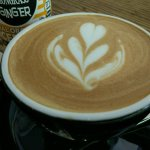 Nice coffee-art!