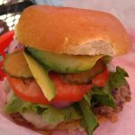 The Beach Bum Burger - Yum!