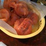 Monster fried mushrooms!