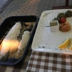 Sea Bass baked in sea salt-This is the best fish dish in town