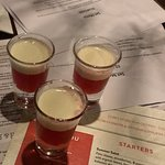Brona' Stawberries and Creme Shots!