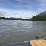 Rainbow Glacier float trip view