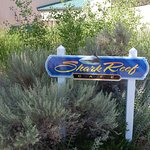 Shark Reef Cafe sign