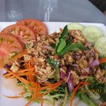 Thai salad with chicken