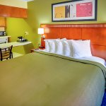 Great King room suite with brand new modern furnitures, guest seating area and cabinets
