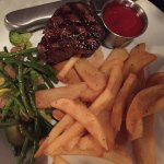 Filet and fries!