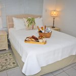 Our beds get rave reviews for comfort.  For special occasions, we can help. (See bed.  Fees appl