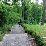 paved path