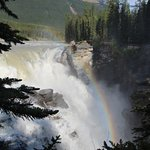 Rainbow over the Falls.