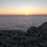 Vistas de la puesta de Sol