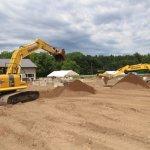 Dueling Excavators!