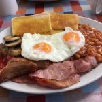 The full English breakfast is amazing!
