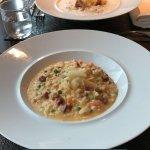 Risotto Chorizo et saucisse de Morteau
