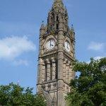 The impressive clock tower