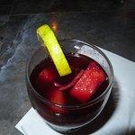 A Lava Lounge Real Sangria.