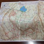 This map shows an area of about 11x15 miles in Utah. Flip it and its another 11x15 miles in Ariz