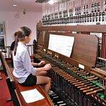 Shu Zhang plays the carillon - Rockefeller Memorial Chapel