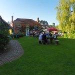 Watermill Theatre, front garden