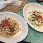1988 fish taco and 1988 shrimp taco- super good!