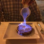 This dessert is fire...
