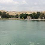 Shore view from Sea of Galilee cruise