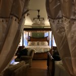 This was the original master suite; large and luxurious, two beds will sleep a family of four