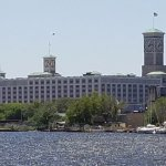 The Allen Bradley Clock Tower - the world's largest four-faced clock