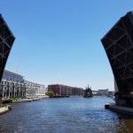 One of Milwaukee's 21 movable bridges.