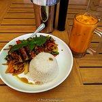 Teton Thai Plate Foto