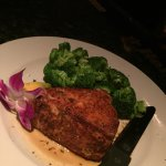Blackened Ahi Tuna Steak. Absolutely the best in Burlington!