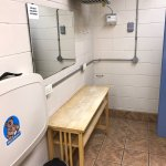 Clean restrooms, nice showers