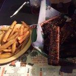Bucket of ribs.