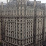 The historic Ansonia Building, viewed from our window