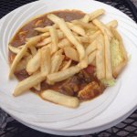 Curry with French fries
