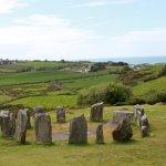 Drombeg Circle 17 stones, 2 portal stones