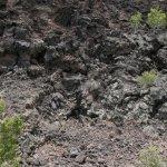 Lava flow trail