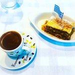 Greek Coffee and Baklava