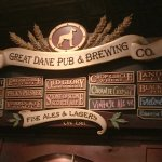 Great Dane Pub and Brewing - Hillsdale, Wisconsin - Tap Beer List