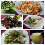 These are the dishes that we order in June when we visited Batam island