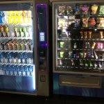 Vending machines.