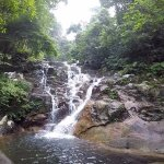 Asah waterfall - 45 minutes trek from the chalet