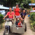tricycle service with the owner - Mr. Zamros