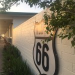 Route 66 Old school motel