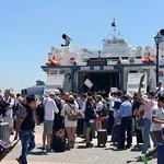 Arrival at Mykonos - barage of soliciters